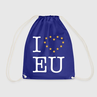 I Love EU (Europe) - Drawstring Bag