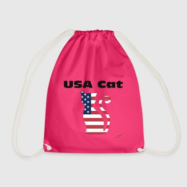 USA Cat - Turnbeutel