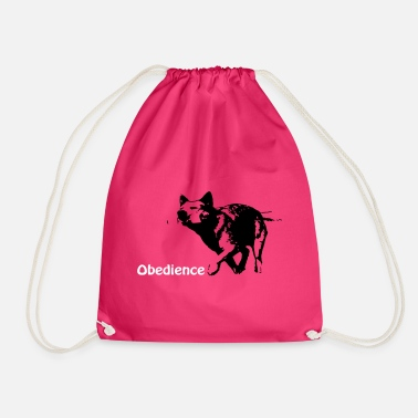 Obedience Obedience Cattledog - Drawstring Bag