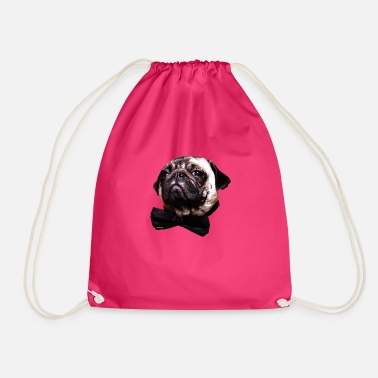 Posh Posh Pug - Drawstring Bag