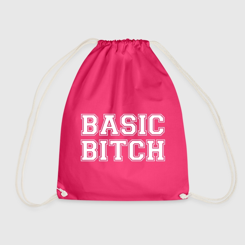 BASIC BITCH - Drawstring Bag