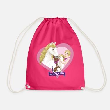 Schleich Horse Club Sofia & Blossom Heart motif - Drawstring Bag