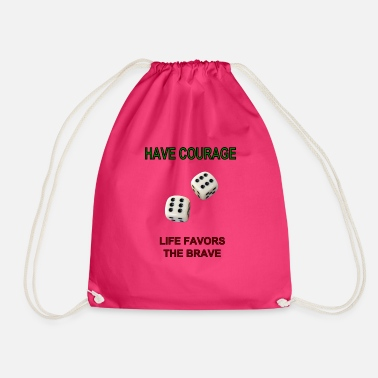 Dice dice - Drawstring Bag