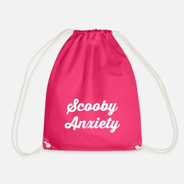 Scooby Scooby Anxiety - Logo White - Drawstring Bag
