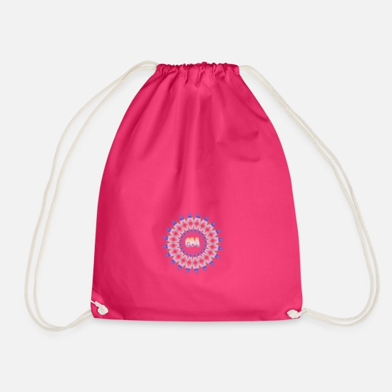 Dub Bags & Backpacks - Goa - Drawstring Bag fuchsia