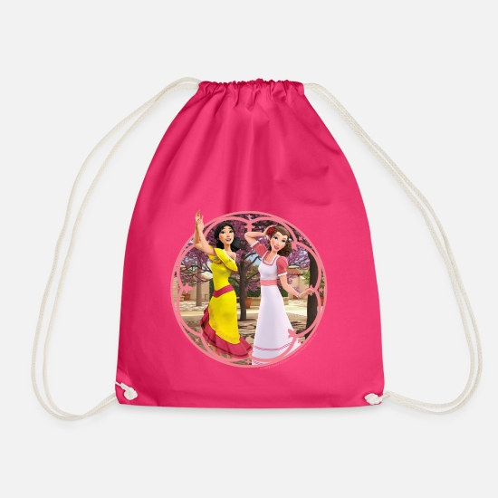 Zorroclassic Bags & Backpacks - Zorro The Chronicles Ines And Carmen Dancing - Drawstring Bag fuchsia