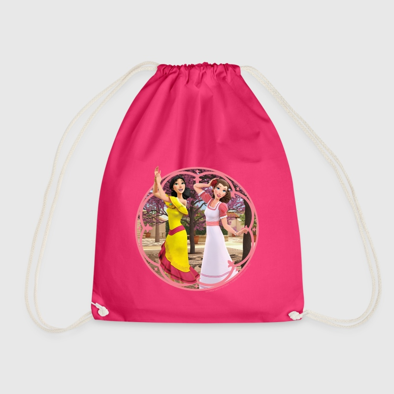 Zorro The Chronicles Ines And Carmen Dancing - Drawstring Bag