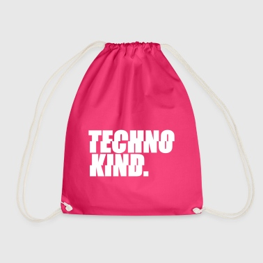 Techno Techno Kind Rave Kultur Berlin Vinyl Progressive - Turnbeutel