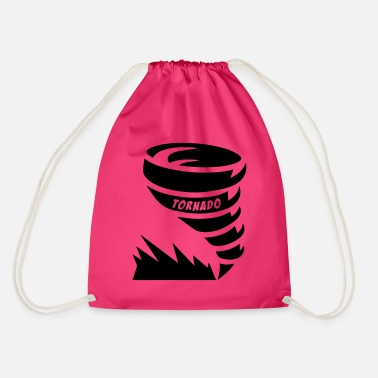 Tornado alone - Drawstring Bag