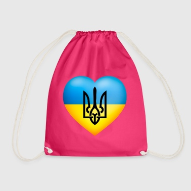 Україна / Ukraine flag - Drawstring Bag
