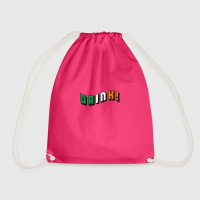 Drink Irish - Drawstring Bag