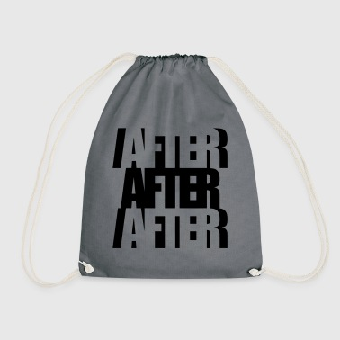 After After Afterhour Techno Clubbing Rave Musik - Turnbeutel