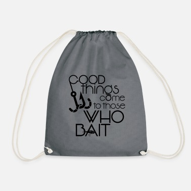 Fisherman_Design-2 - Drawstring Bag