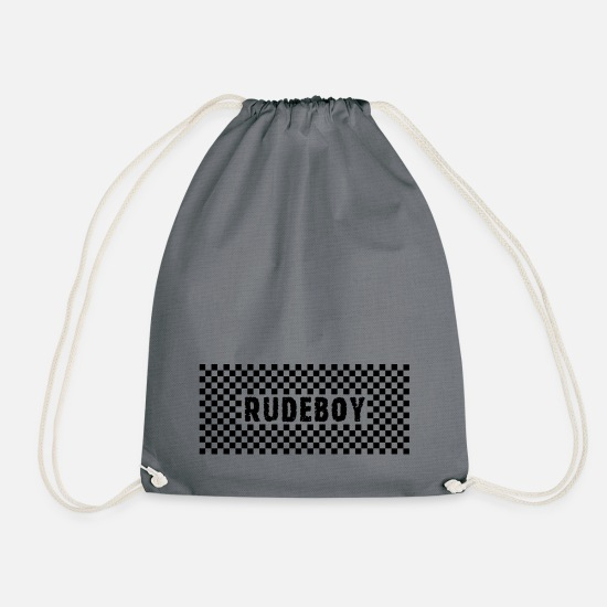 Rudeboy Bags & Backpacks - Rudeboy - Drawstring Bag gray