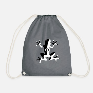 Alphabet Phi - Drawstring Bag