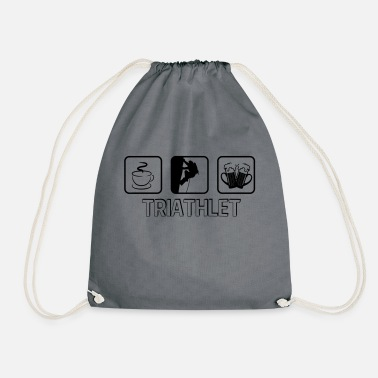 Kitzbühel Triathlete climbing bouldering - Drawstring Bag