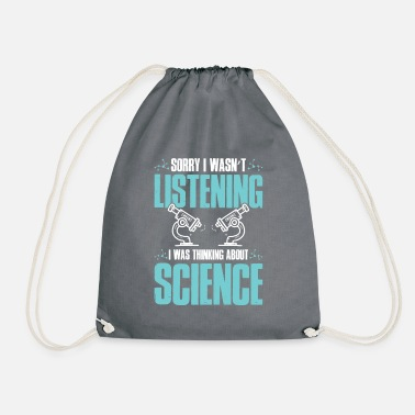 Funnier science funnier - Drawstring Bag