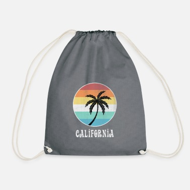 California California - Drawstring Bag