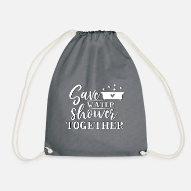 Geimeinsam Baden - Shower Together - Drawstring Bag