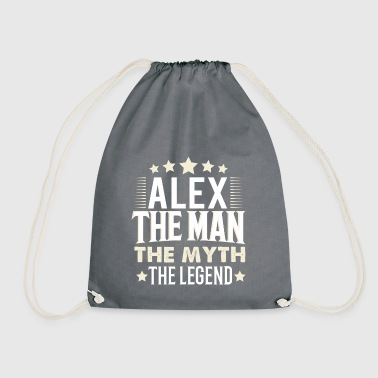 Alex - Drawstring Bag