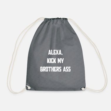 Siblings siblings - Drawstring Bag