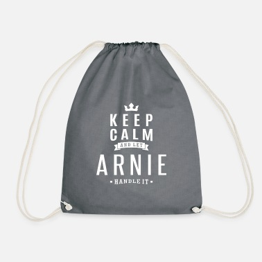 Arnis Let Arnie Handle It! - Drawstring Bag