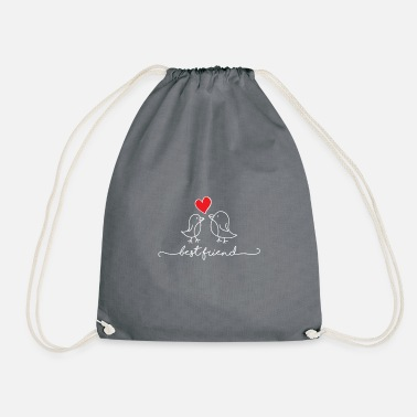 Best Friend Best Friend - Best Friend - Drawstring Bag