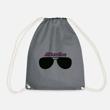 Attractive Sunglasses attraction - Drawstring Bag