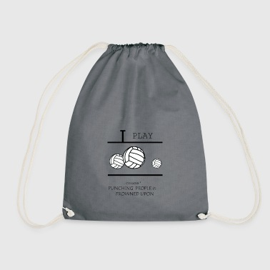 Beach Volleyball Volleyball, beach volleyball, volleyball girls - Drawstring Bag
