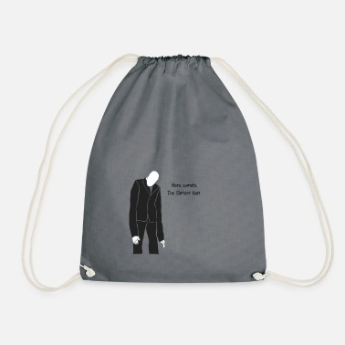 Slender Man Here Cometh, The Slender Man - Drawstring Bag