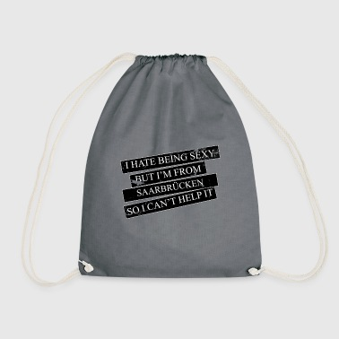 Motive for cities and countries - SAARBRÜCKEN - Drawstring Bag