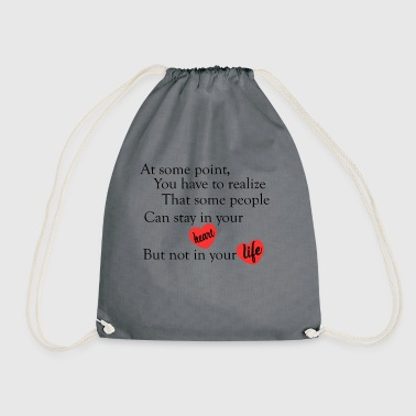 love quotes cool - Drawstring Bag