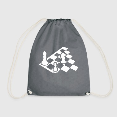 Chess Board T Shirt - Drawstring Bag