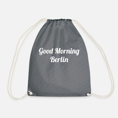 Ybytshirt Good morning Berlin - Drawstring Bag