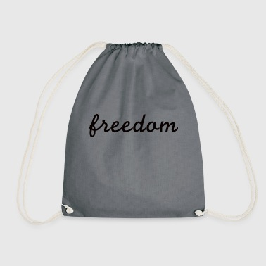 Freedom Freedom - freedom - Drawstring Bag