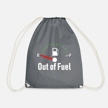 Fuel Out of Fuel - Drawstring Bag