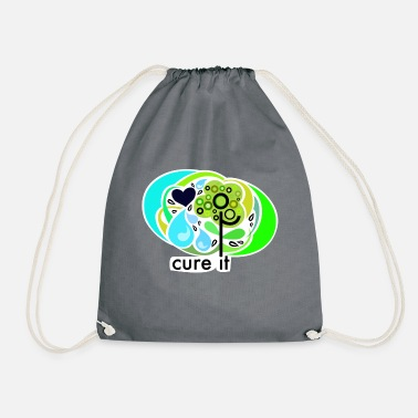 Cure cure it - Drawstring Bag