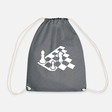 Chess Chess Board T Shirt - Drawstring Bag