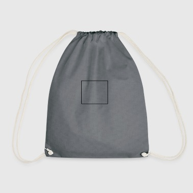 Square square - Drawstring Bag
