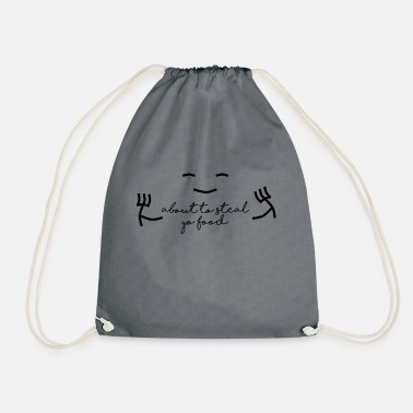 Steal Stealing food - Drawstring Bag