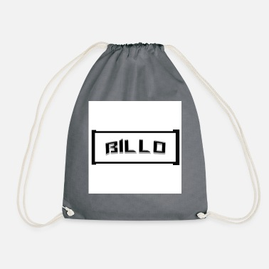 Letter Boxing Cool Billo lettering in a box - Drawstring Bag