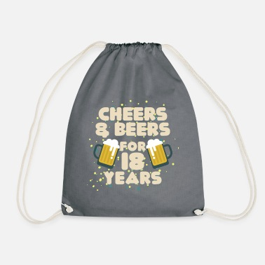 18th Birthday 18th birthday - Drawstring Bag