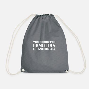 Backwards Backward Day - Backward Day - Action Tee Shirt - Drawstring Bag