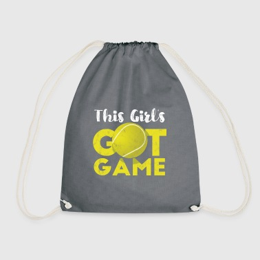 Tennis Game Tennis Ball Gift - Drawstring Bag