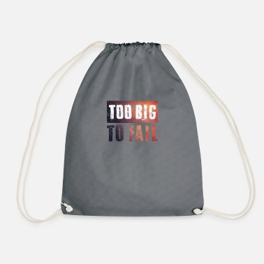 Financial Crisis Stock Market Wall Street financial crisis money banking crisis - Drawstring Bag
