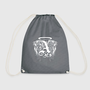 Guardian angel with angel wings - Drawstring Bag