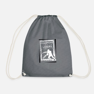 Nimble Champions Train Losers complain - Drawstring Bag