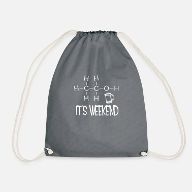 Weekend It's weekend. It is weekend - Drawstring Bag