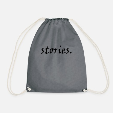 Story stories - Drawstring Bag