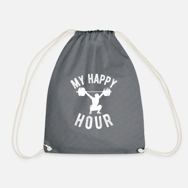 Hour Glass My happy hour - Drawstring Bag